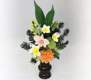 PSYH-0225 プルメリアの仏花